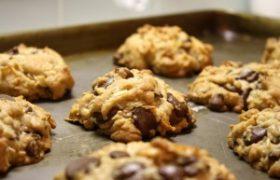 Chocolate & Coconut Cookies