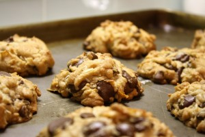 Chocolate & Coconut Cookies